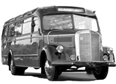 mercedes oldtimer bus icon
