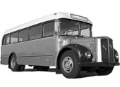 Saurer Oldtimer Bus Icon
